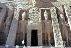 Temple of Hathor, Abu Simbel, Egypt 2016