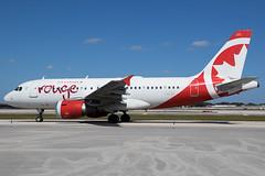 C-GARJ / Air Canada Rouge / Airbus A319-114