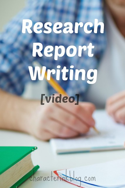 Research Report Writing [Video]
