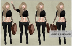 :North Moon: Spring Foward Pose Set - L$10 {LIMITED TIME PROMO}