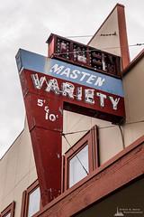5 and 10 Neon Sign, Oak Harbor, Washington, Spring 2017