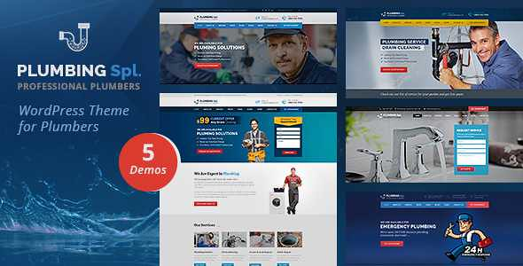 Plumbing Spl WordPress Theme free download