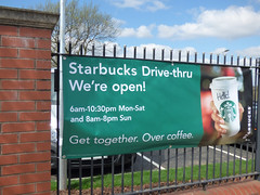 Starbucks Northfield - We're Open