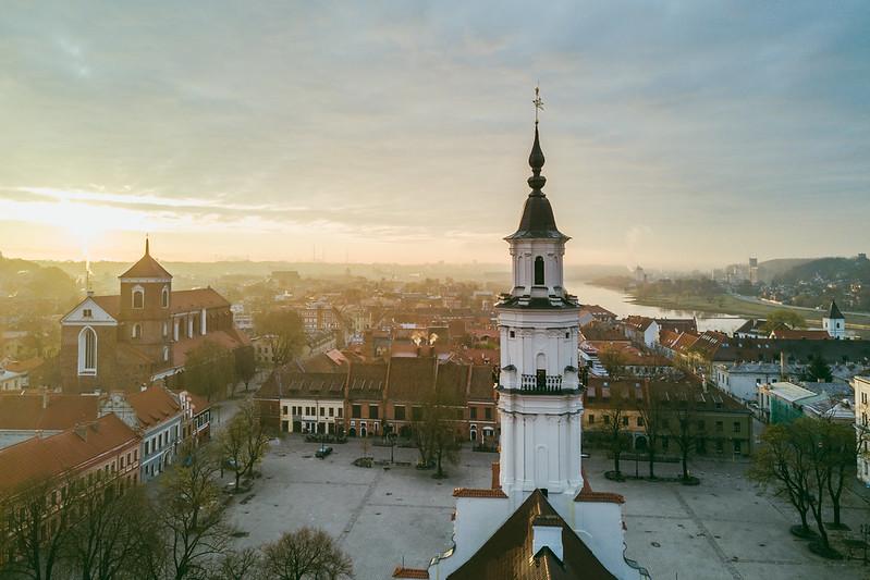 Spring Morning | Kaunas Aerial