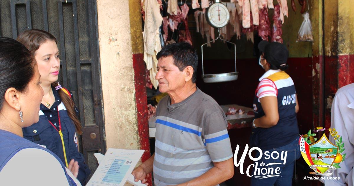 Alcaldía de Chone y entidades de control supervisan tercenas del cantón