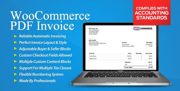 WooCommerce PDF Invoice v3.1.5