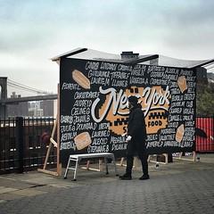 A visit from McDonald's France  #jj_forum_1881 #mcdonaldsfrance #newyorkfood #brooklynheightspromenade #streetlife #streetart #facebooklive #mcdonalds