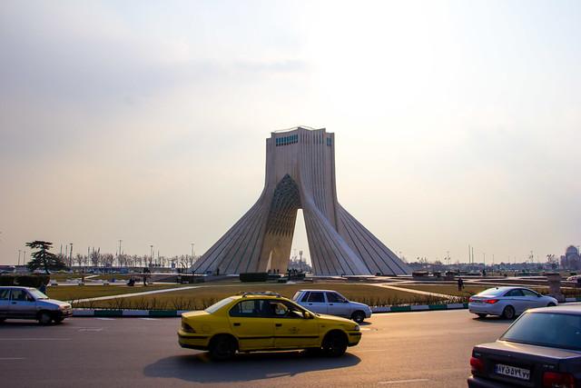 Azadi tower, Teheran, Iran