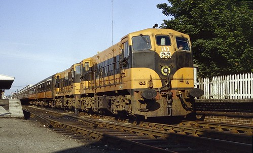 train railway railroad trein diesellocomotive dieselloco vlok generalmotors bclass 141class cie althone