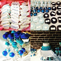 TBT last year graduation.. ready for this year? #graduationcookies #graduationcakepops #graduationoreos #graduationcake #graduationparty #bluetreats