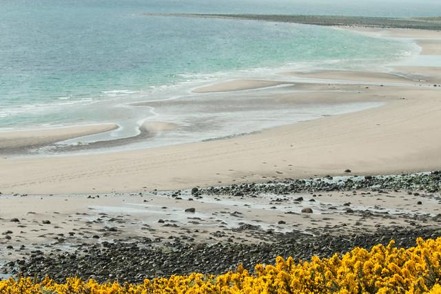 A spring beach