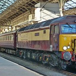 Northern Belle at Preston.