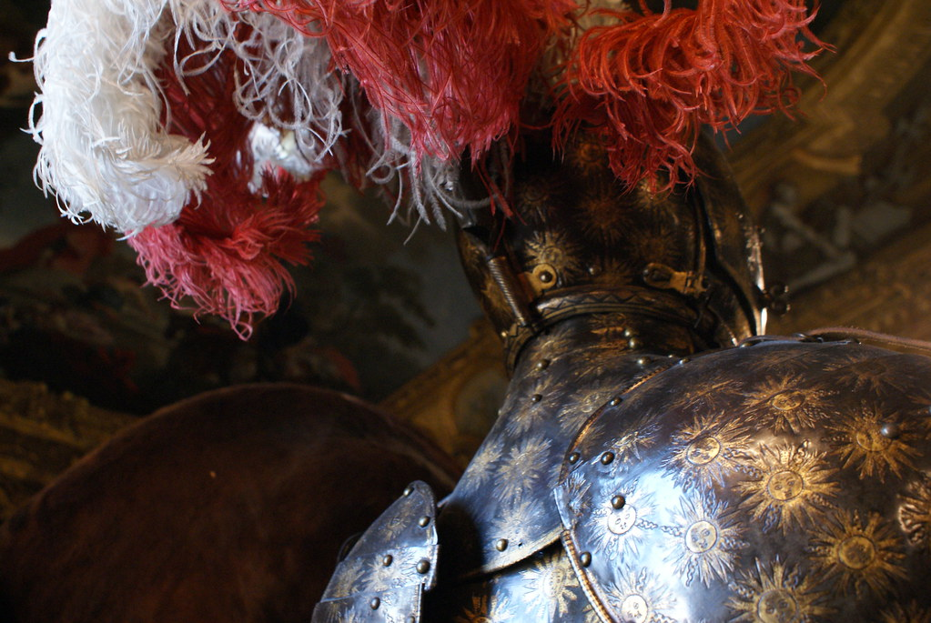 Coquetterie et chevalerie à l'Armurerie royale de Turin.