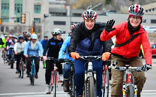 Duluth Bike to Work Day 2013