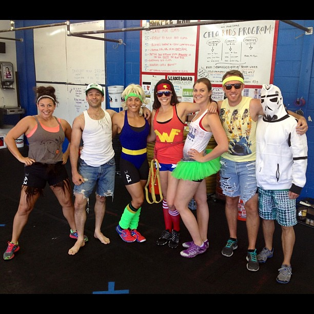 Costume competition day! Noon class. #crossfit #howwedo