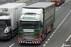 Scania R440 6x2 - PE11 CSX - Christina Louise - Eddie Stobart - M1 J10 Luton - Steven Gray - IMG_0139
