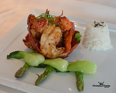 Sautéed Maine Lobster @ Sky on 57, Singapore