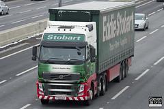 Volvo FH 6x2 Tractor - PX10 DGY - Jessica Sophie Mae - Eddie Stobart - M1 J10 Luton - Steven Gray - IMG_7400