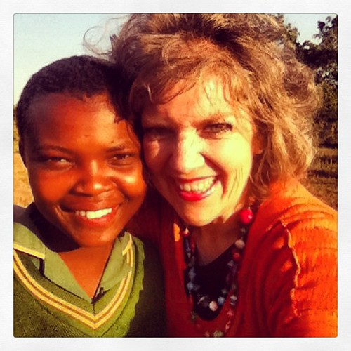 Feeling the Swazi joy! #swazilandtrip2013 #bhevenicarepoint #childrenshopechest #swaziland #smiles #ilovethisgirl