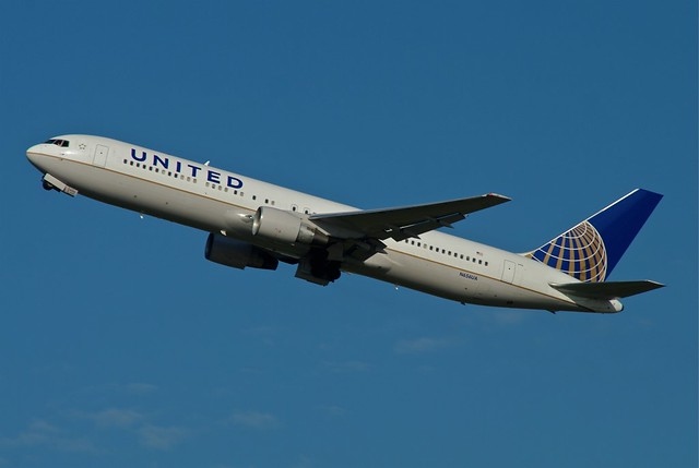 Recent Photos The Commons Getty Collection Galleries World Map App    United Airlines 767 300