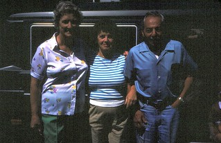 New York   -   Sayville    -   Charlie & Melita Vella and my mother    -   July 1985