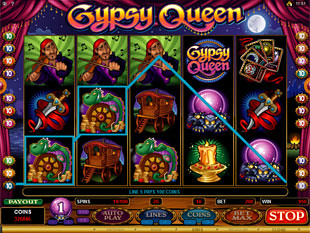 Gypsy Queen Slot Machine