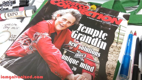 Temple Grandin on Costco Connection