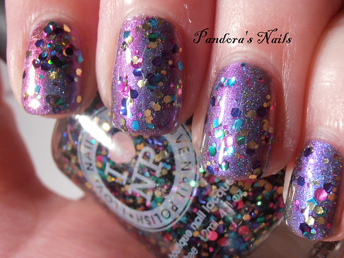 i love nail polish Babes in Toyland over enchanted polish Magical Mystery Tour (1)