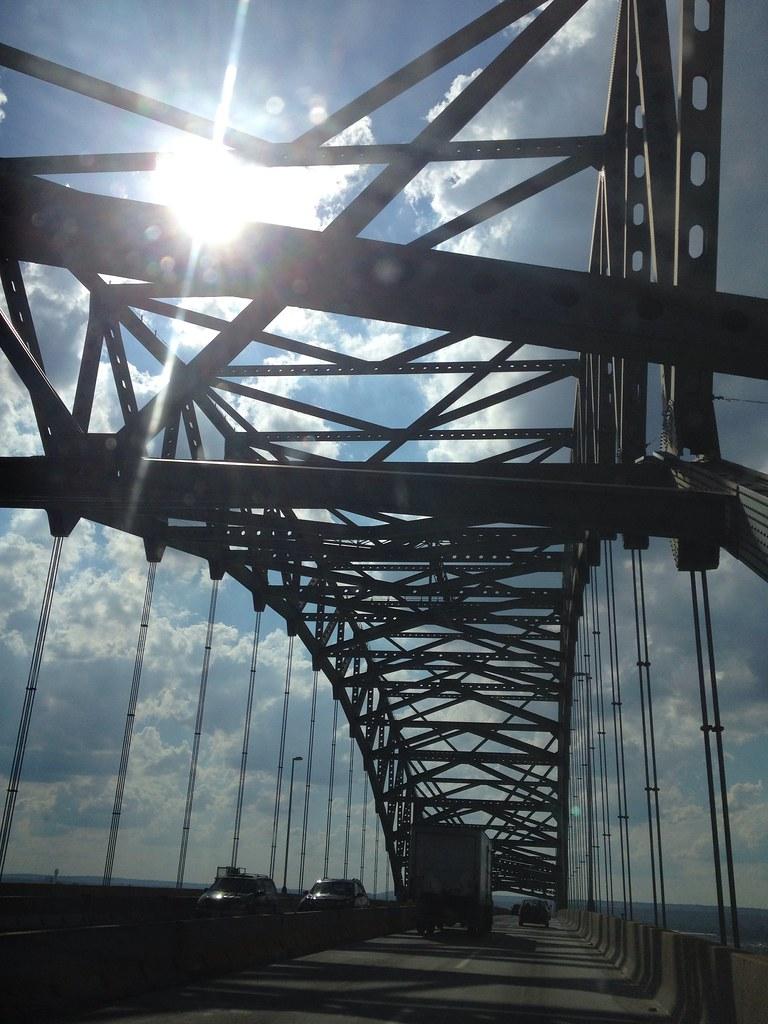 Newark bay bridge hudson county new jersey tripcarta for About you salon bayonne nj