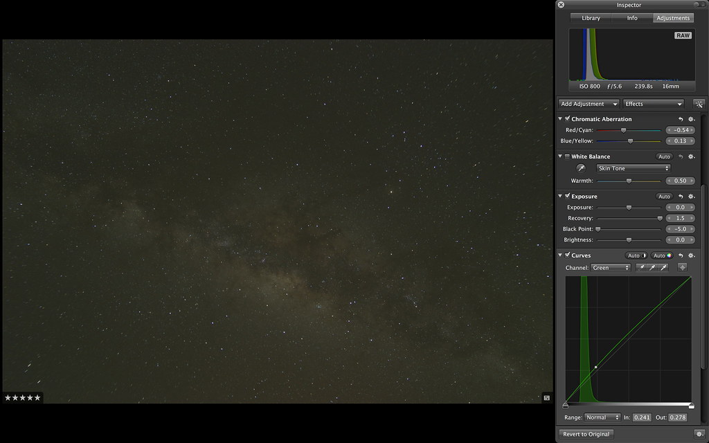 星空攝影後製心得分享(順便進來看看南方的銀河及星座!