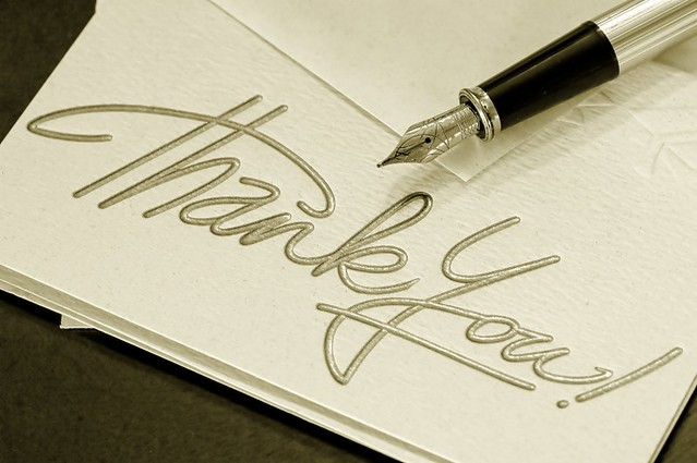 Thanking your readers could increase readership