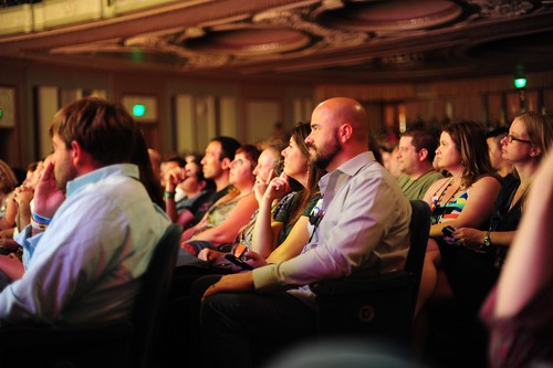 WDS 2013 Attendees listen intently to a speaker