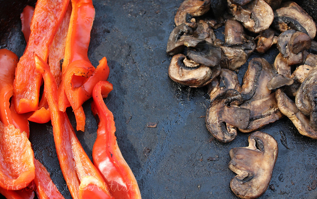 Red Peppers & Mushrooms