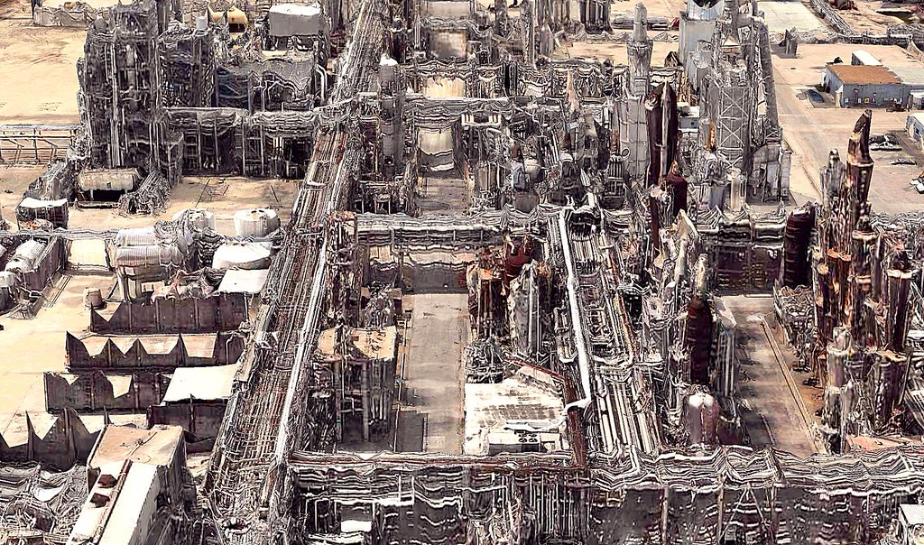 Oil Refinery, Houston, TX