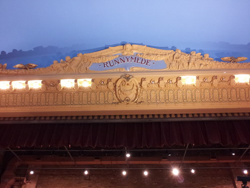 I'm still awfully impressed with how they preserved the old Runnymede Theatre