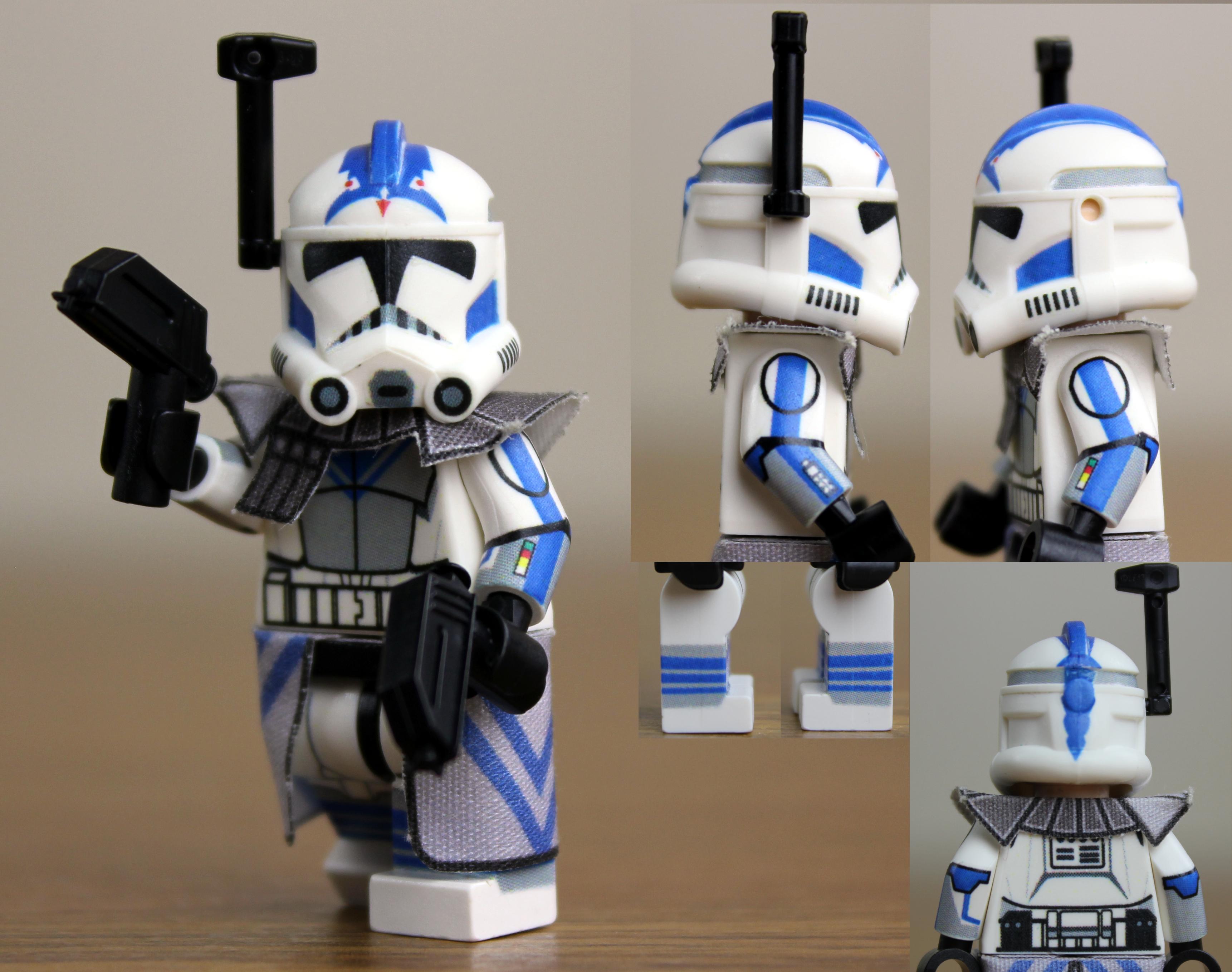 Fives Arc Trooper Lego Sets Custom Lego Arc Trooper Fives