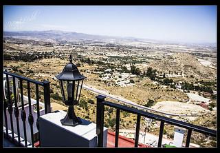 Vistas desde la terraza de Nápoli