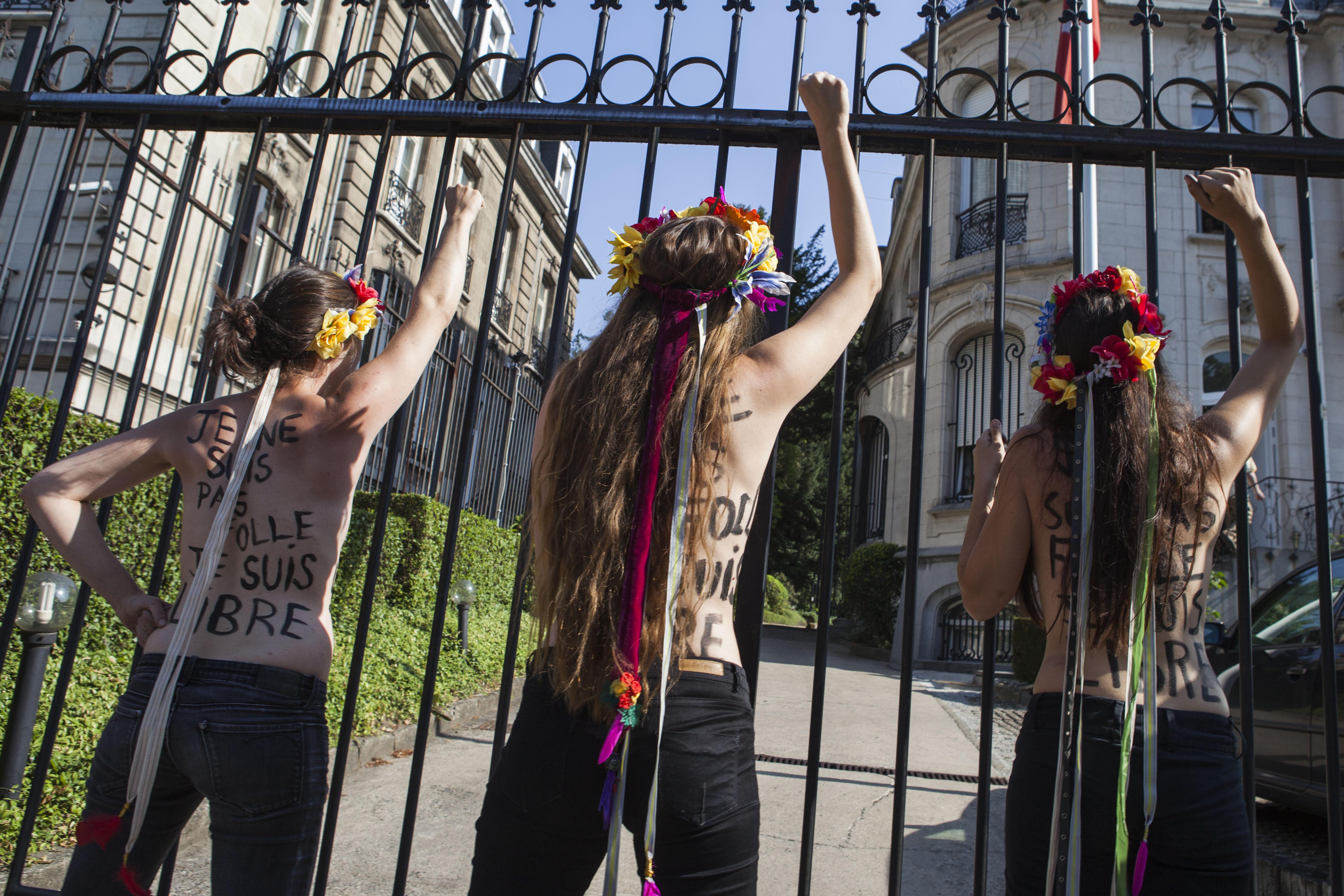 (10)BELGICA-BRUSELAS-SOCIEDAD-PROTESTA