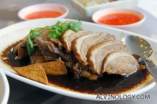 Braised goose meat (S$16)