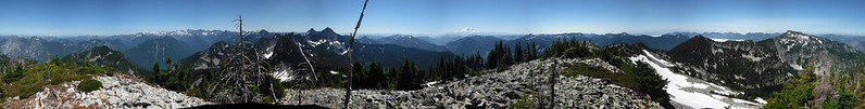 Mount Caroline Summit Pano