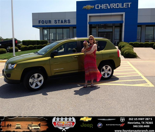 thank you to teresa david on the 2012 jeep compass from scott sanders and everyone at four stars. Black Bedroom Furniture Sets. Home Design Ideas