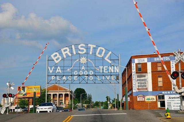 Bristol VA / TN Sign