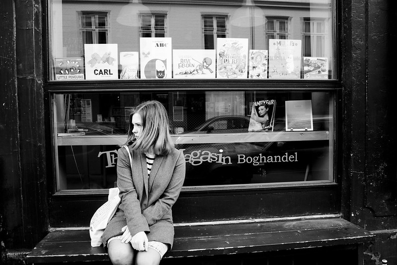 Book store in Vesterbro
