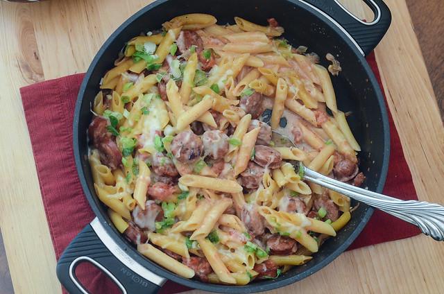 Skillet Sausage Pasta-078.jpg