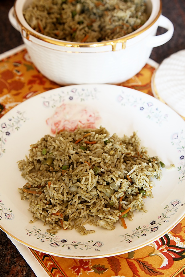 Jasma's Vegetable Pulao