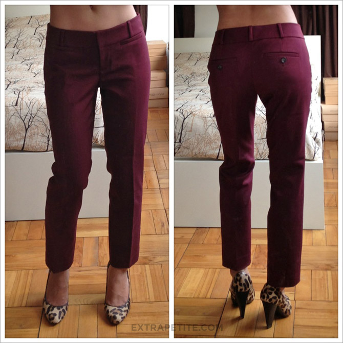 LOFT zoe ankle pants copy