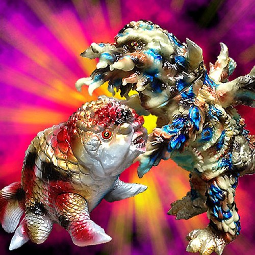 BLObPUS Raoh vs Kingy Zaurus Set