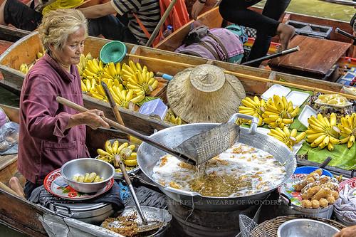 Thai Floating Market No 2 - Deep Fried Bananas
