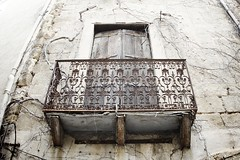 Decaying Balcony:  Montagnac - Photo of Bélarga