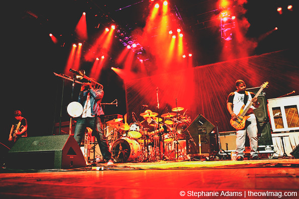 Trombone Shorty & Orleans Avenue @ Mann Center, Philadelphia 9/14/2013